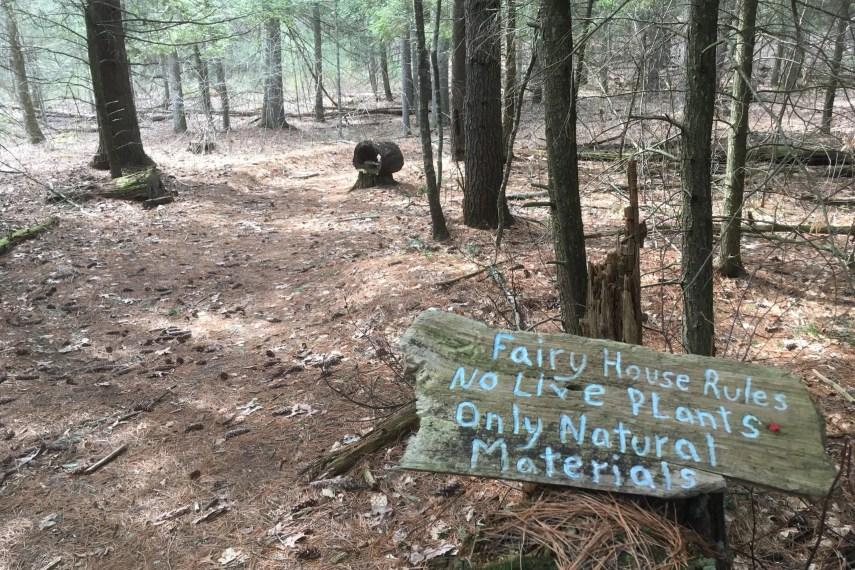 Sprague Fairy Trail Start