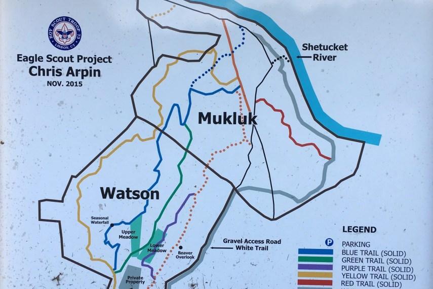 Sprague Land Preserve Trail Map