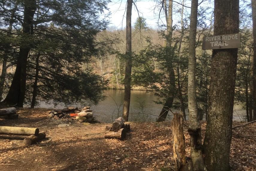 Sprague Start of White Trail