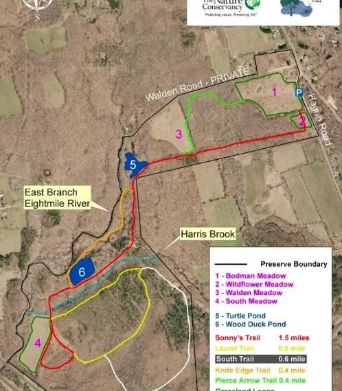 Walden Preserve Trail Map