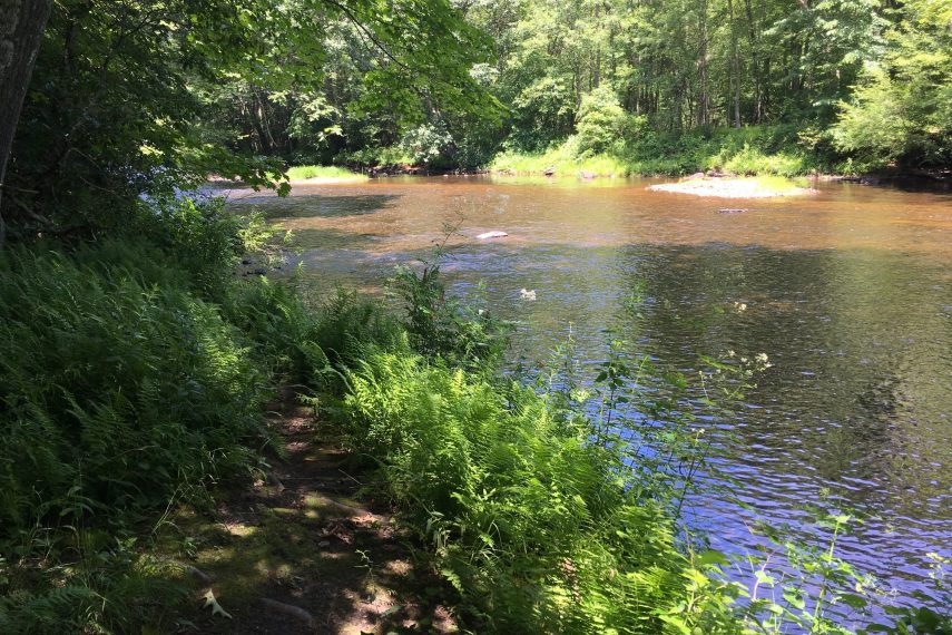 Becker View of Willimantic River