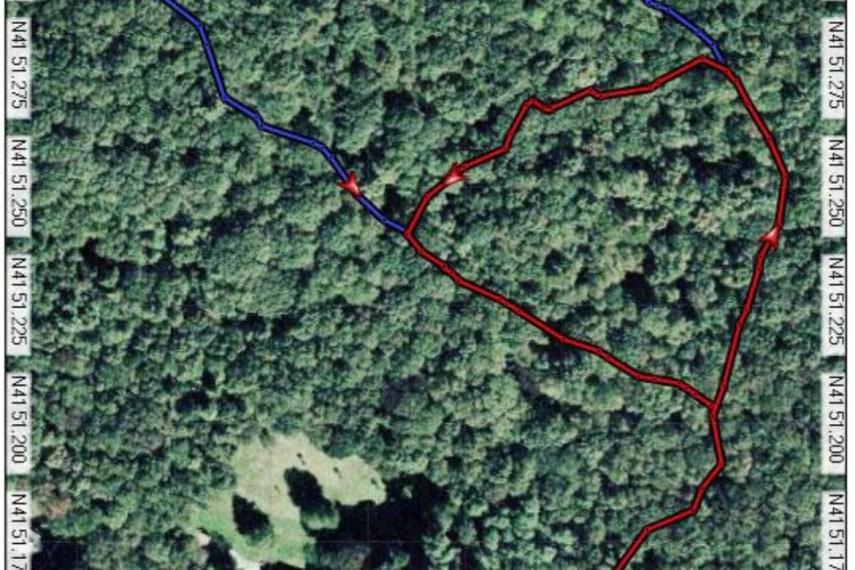 Benton Homestead Trail Map