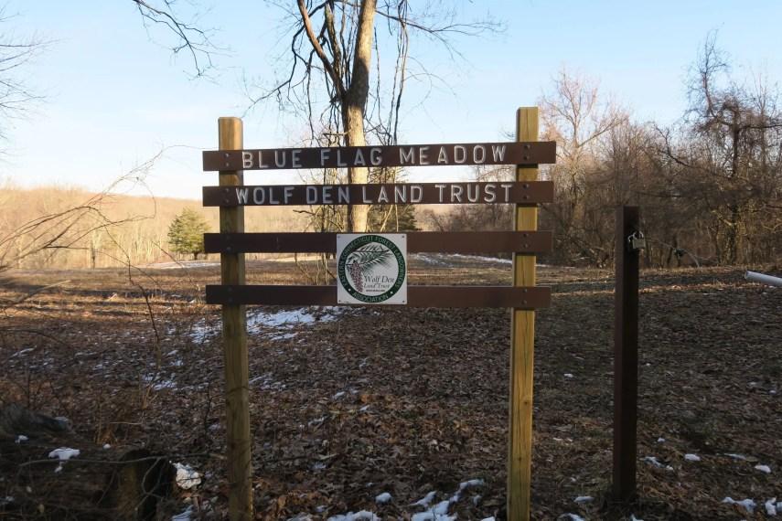 Blue Flag Meadow Trailhead