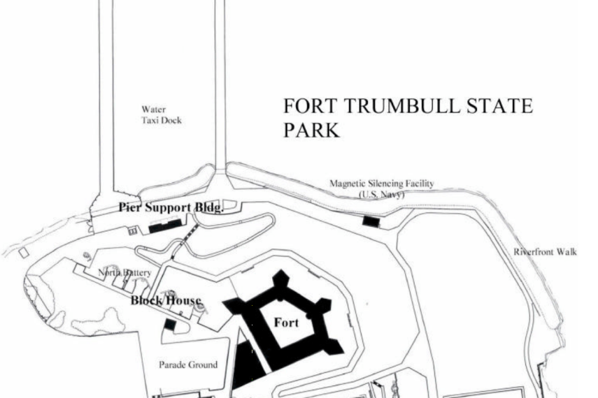 Fort Trumbull Park Map