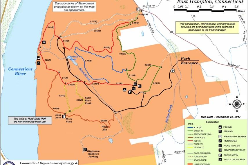 Hurd State Park Trail Map