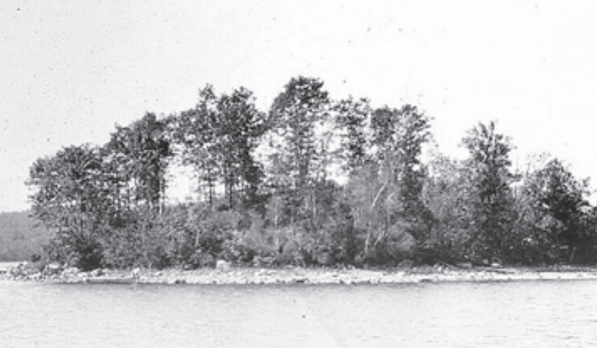 Minnie Island in 1925