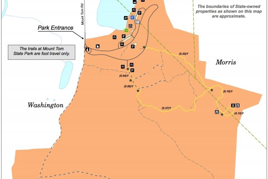 Mount Tom Trail Map