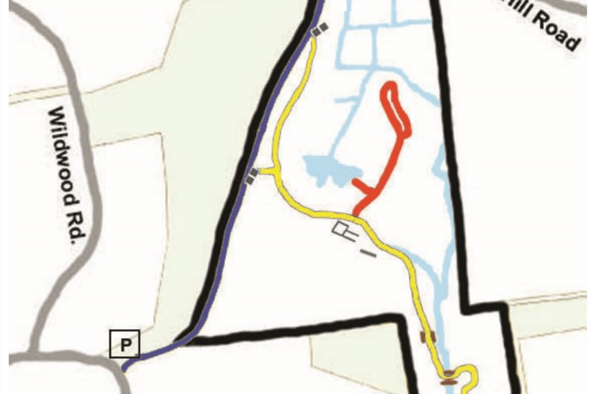 Crystal Peat Trail Map