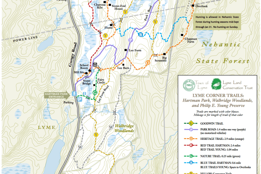 Hartman Park Trail Map