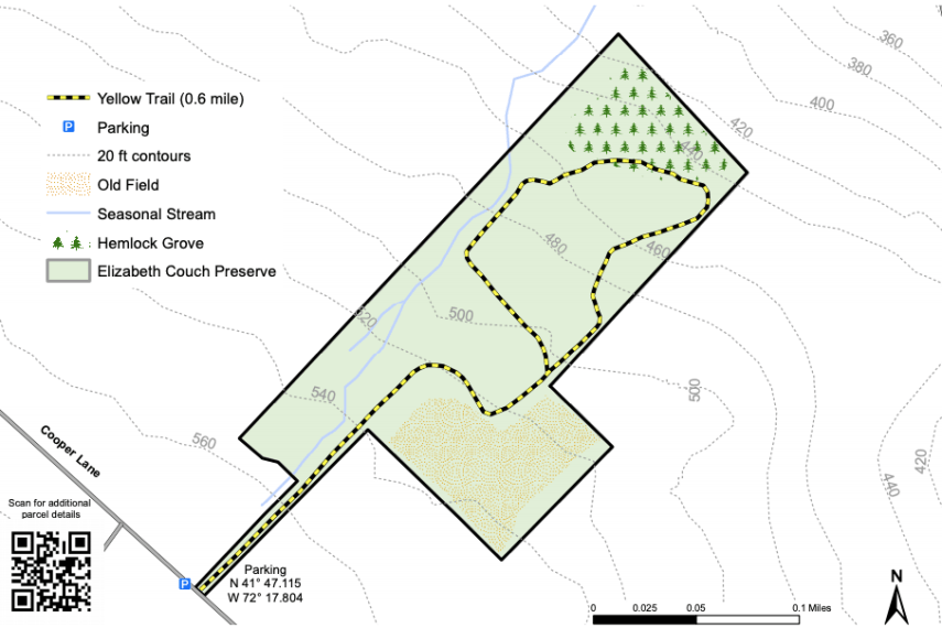 Couch Preserve Trail Map
