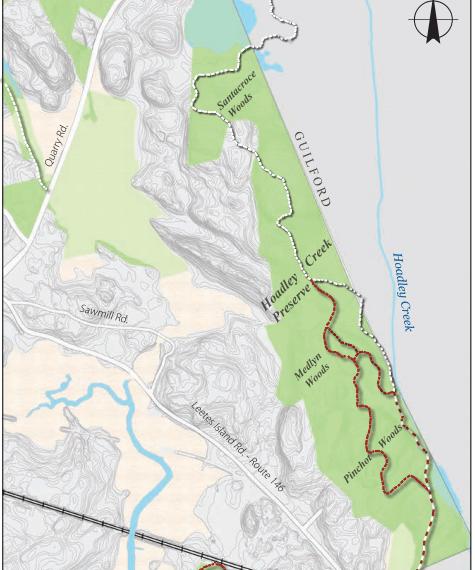 Hoadley Creek Preserve Trail Map