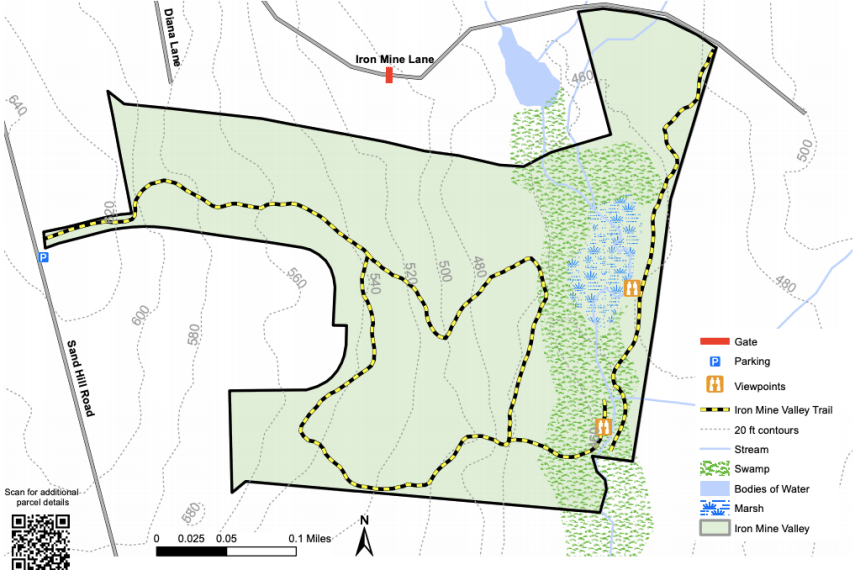 Iron Mine Valley Trail Map