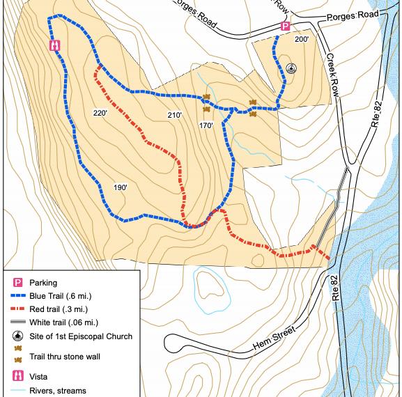 Duncan Preserve Trail Map