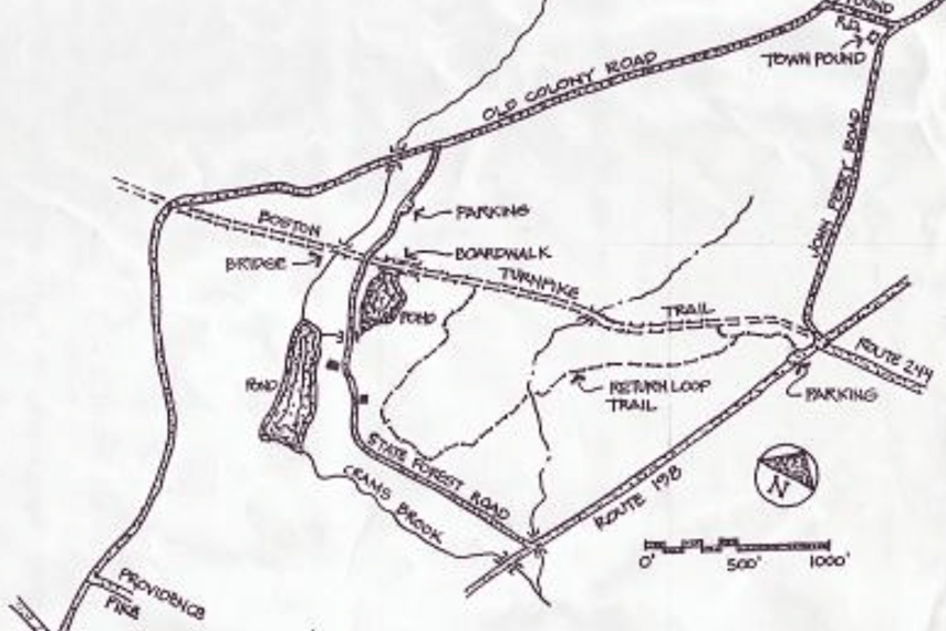 Boston Turnpike Trail Map