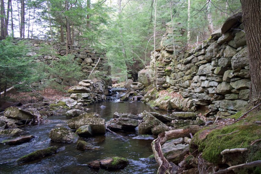 Yale Forest Camp Mill Ruins