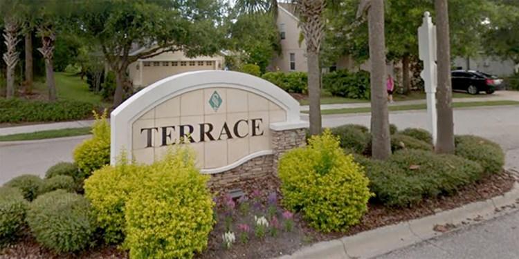 Greenbrook Terrace Entrance at Lakewood Ranch