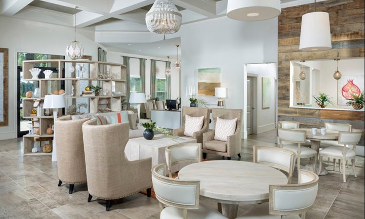 Luxe Apartment Clubhouse
