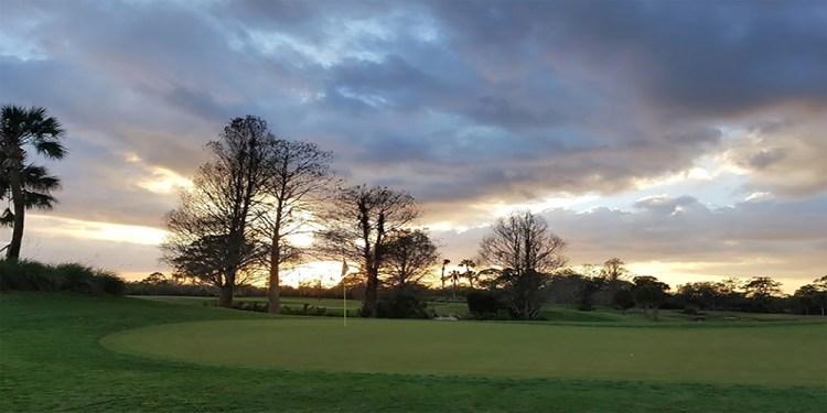 Sunset over Ritz Carlton Membership Golf Club in Lakewood Ranch