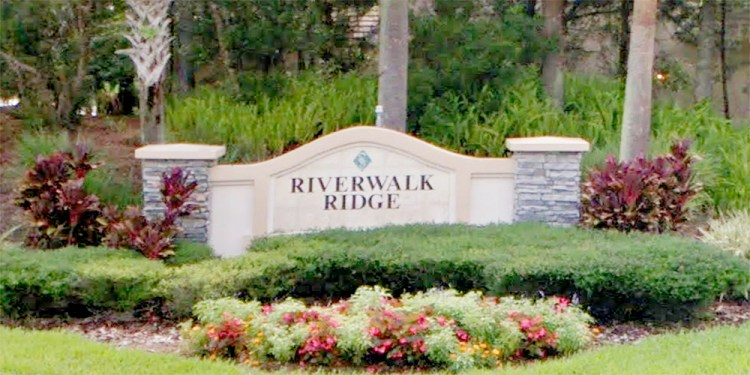 Riverwalk Ridge at Lakewood Ranch Entrance