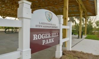 Roger Hill Park in Lakewood Ranch pavilion