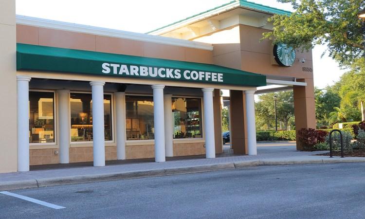 Starbucks on Main Street in Lakewood Ranch