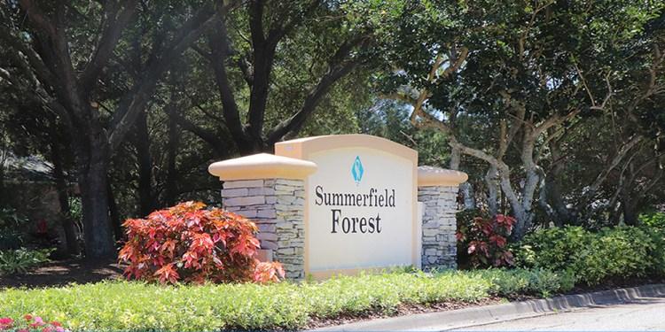 Summerfield Forest entrance