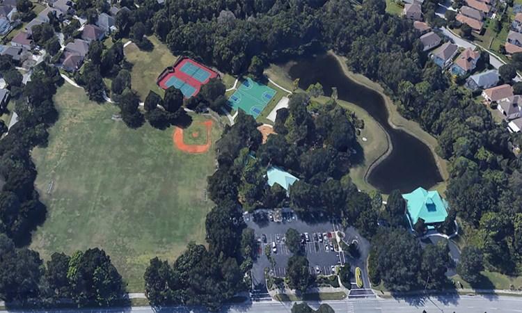 Summerfield Park in Lakewood Ranch Aerial