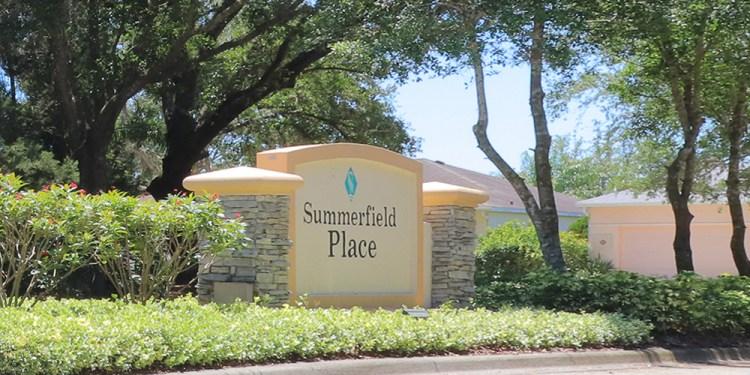 Summerfield Village Lakewood Ranch Summerfield Place entrance