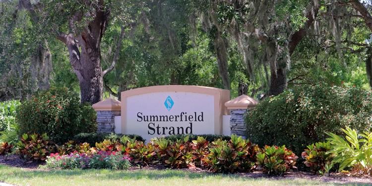 Summerfield Village Lakewood Ranch Summerfield Strand Entrance