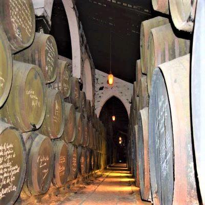 vino jerez sherry Jerez de la frontera solera de bodegas fundador VORS very old rare sherry famous people signature black mold humidity village Cadiz Explore la Tierra Square