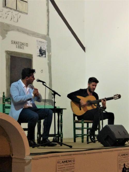 Cante flamenco competition en Vejer de la Frontera, Cadiz origen del flamenco