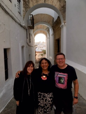 Sherry and tapas tour with Australian and British guests at Vejer de la Frontera