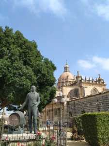 Cathedral walking itinerary Jerez de la Frontera