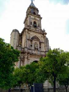 Church of San miguel walking itinerary Jerez de la Frontera
