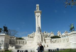 Monumento a la constitucion plaza de España Cadiz