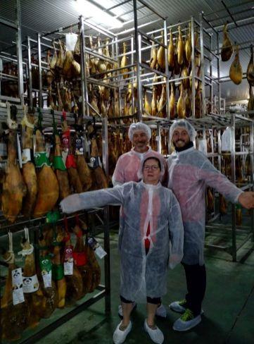 curing Iberian ham Cadiz and Seville