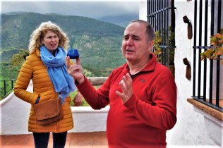 Olive oil tour tasting with our guide Luis in white village Zahara de la Sierra Cadiz