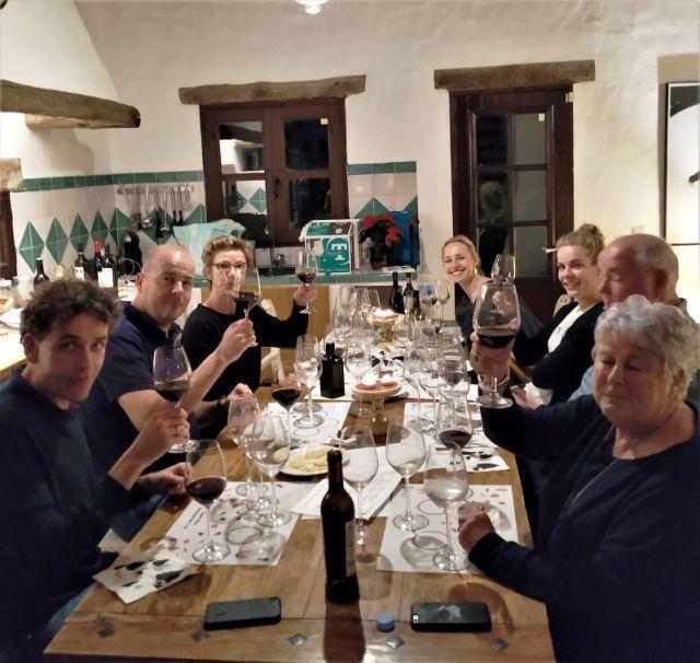 Sherry tasting in Vejer de la Frontera Cadiz