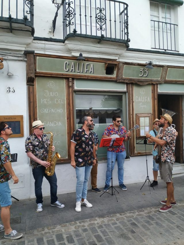 events and festivals in Vejer de la Frontera, Cadiz Jazz Vejer