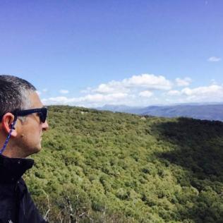 Manuel guía ruta senderismo sauceda Cádiz