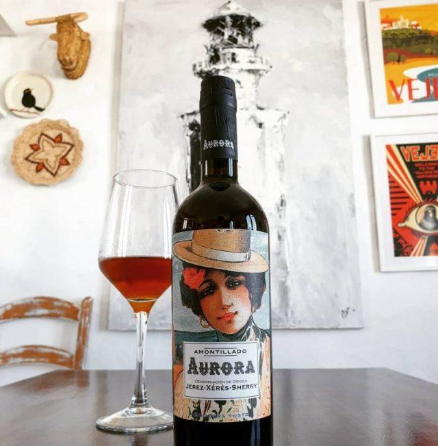 mejor vino amontillado jerez de una manzanilla bodegas yuste amontillado aurora