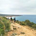 ruta senderismo Bolonia a faro camarinal El Estrecho Cadiz