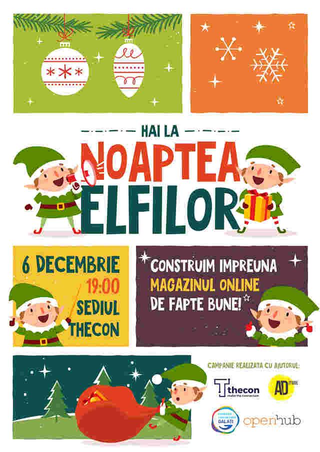 Lansare magazin online de fapte bune în Noaptea Elfilor