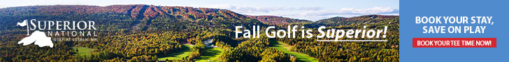 Superior National Fall Golf