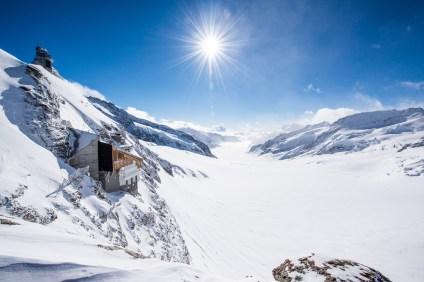 Ein Wahnsins Blick über die Jungfrauregion