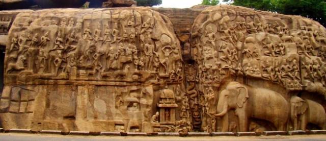 Arjuna-Penance at Mahabalipuram