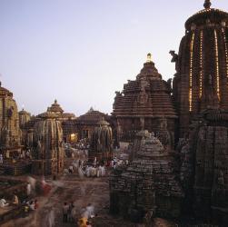 Lingaraj Templelargest temple bhubaneswar