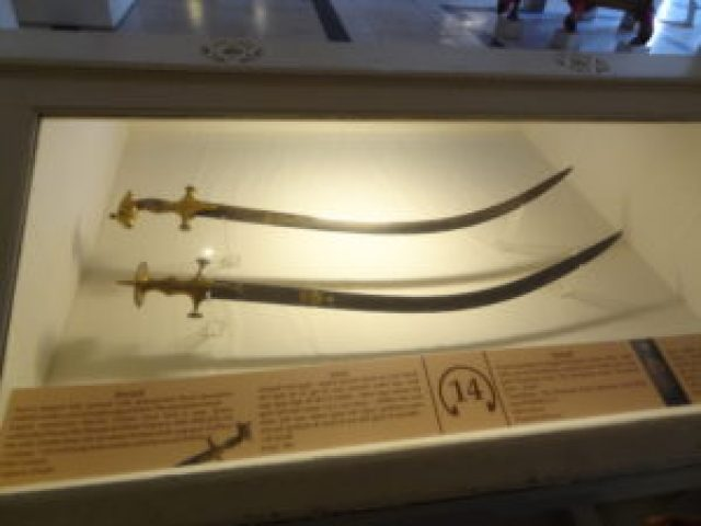 Sword of Samrat Akbar at Mehrangarh Fort museum, Jodhpur