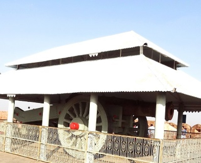 Jaivana : World's biggest cannon on wheel at Jaigarh fort