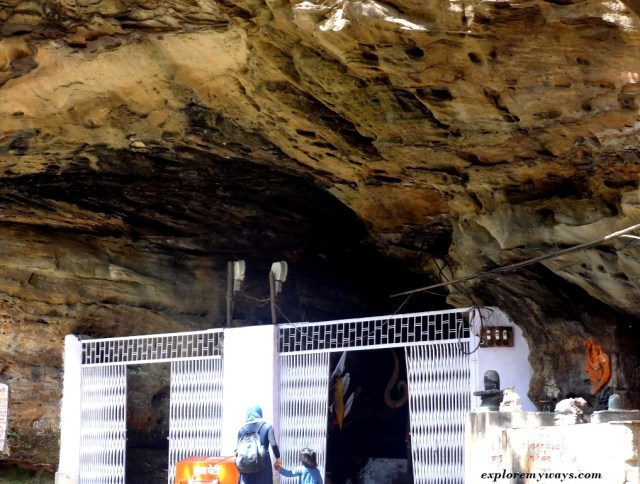 Bada Mahadev at Pachmarhi another religious place